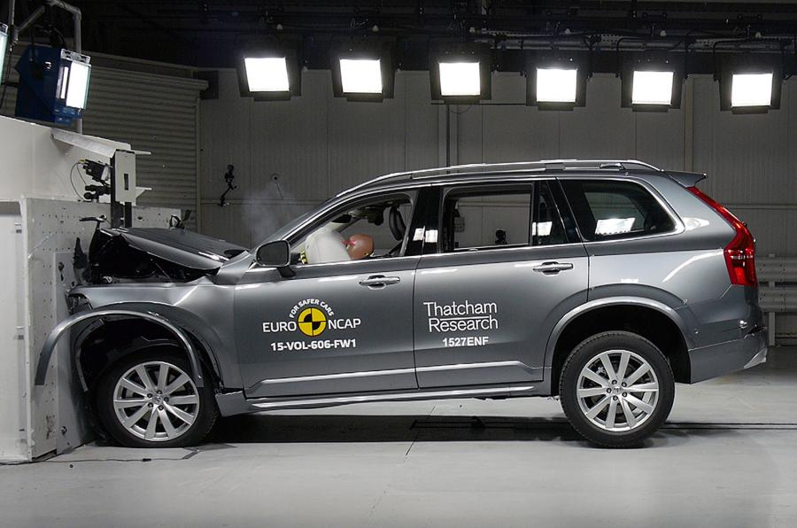 New Volvo XC90 And Audi Q7 Got Maximum Stars In Crash Test  The