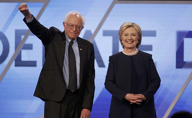Sanders Says Clinton