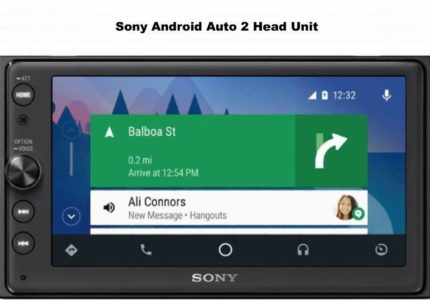 Sony Android Auto 2 Head Unit