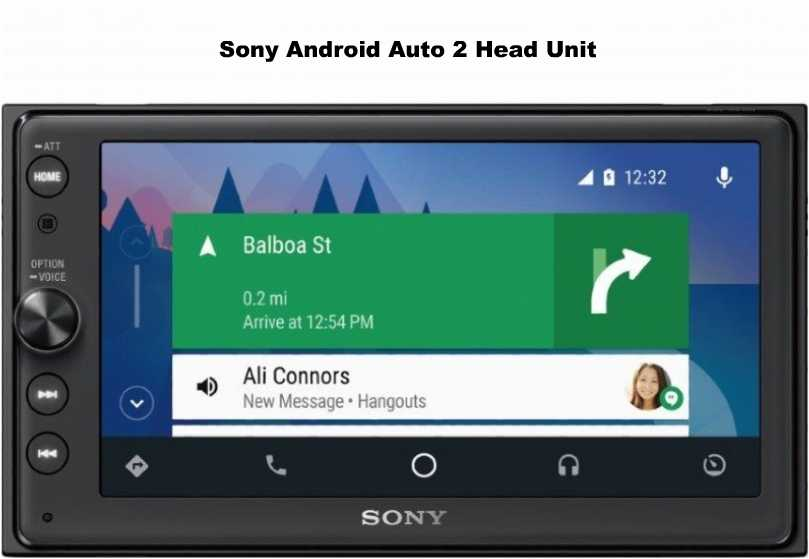 Sony Android Auto 2 Head Unit In Android Auto Market -The Social