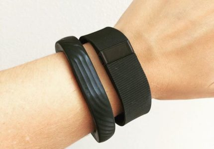 wear a fitness band