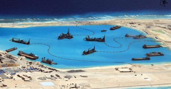 China Built Artificial Territory in South China Sea