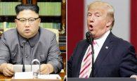 Kim Jong-un and President Trump