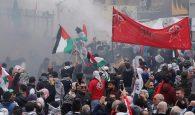 Lebanon US embassy protest