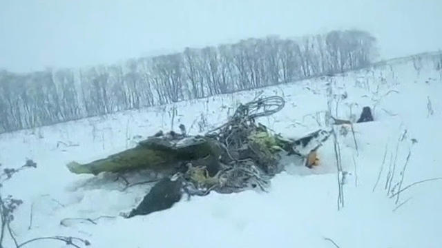 Russian Plane Crashes