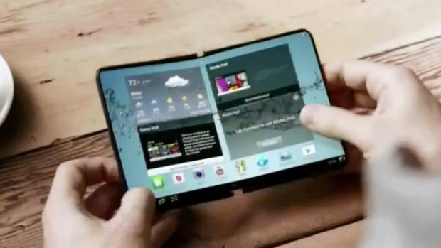 Samsung Galaxy 1st Folding Phone