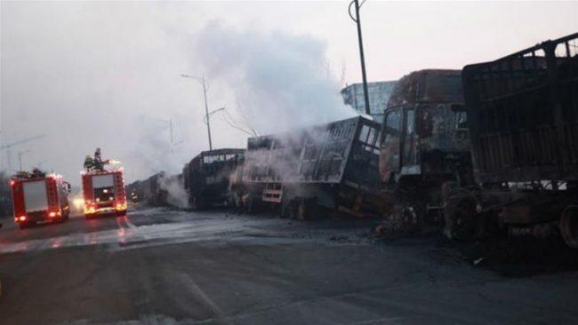 China Hebei province kills 22