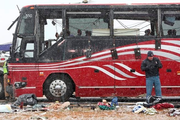 Storm 2 dead 44 hurt