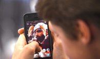 Google AR apply face filters