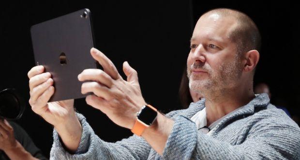 iPhone designer Jony Ive