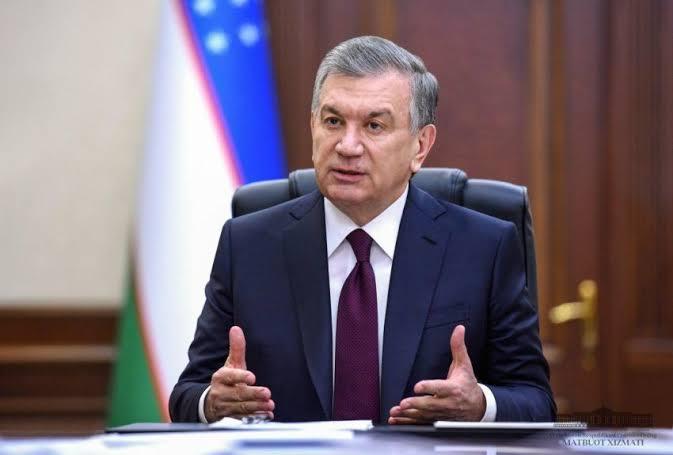 President Shavkat Mirziyoyev