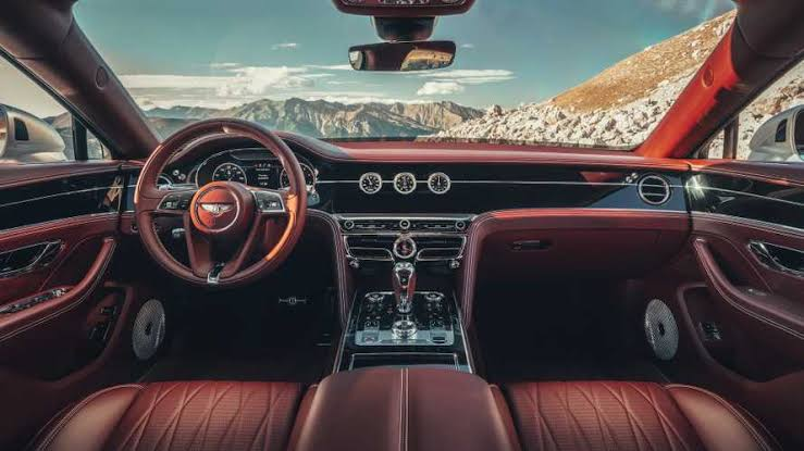 Bentley Breathtaking New Interior