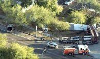 Phoenix fire truck crash